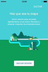 Uso de la navegación GPS - Apple iPhone 4s - Passo 5