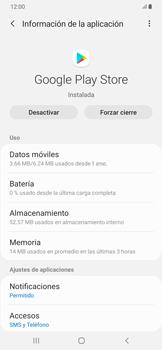 Limpieza de aplicación - Samsung Galaxy A50 - Passo 5