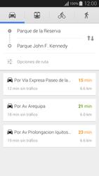 Uso de la navegación GPS - Samsung Galaxy Alpha - G850 - Passo 14