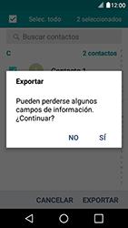 ¿Tu equipo puede copiar contactos a la SIM card? - LG K4 - Passo 10