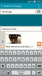 Envía fotos, videos y audio por mensaje de texto - Samsung Galaxy A3 - A300M - Passo 22