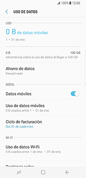 Desactiva tu conexión de datos - Samsung Galaxy S8 - Passo 5