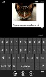 Envía fotos, videos y audio por mensaje de texto - Nokia Lumia 530 - Passo 11