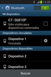 Conecta con otro dispositivo Bluetooth - Samsung Galaxy Fame GT - S6810 - Passo 8