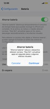 Modo de ahorro de batería - Apple iPhone X - Passo 4