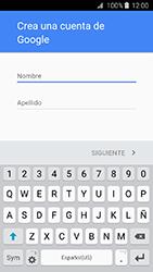 Crea una cuenta - Samsung Galaxy J3 - J320 - Passo 4
