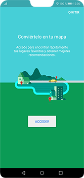 Uso de la navegación GPS - Huawei P20 Lite - Passo 4