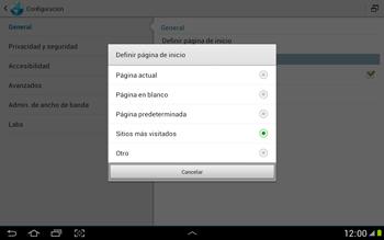 Configura el Internet - Samsung Galaxy Note 10-1 - N8000 - Passo 23