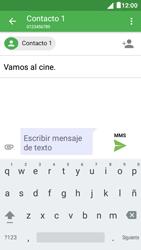 Envía fotos, videos y audio por mensaje de texto - Alcatel Pixi 4 5 - OT5045 - Passo 11