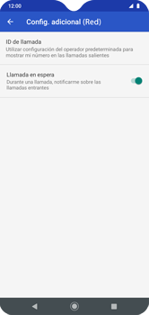 Habilitar llamada en espera - Motorola Moto G8 Play (Single SIM) - Passo 10