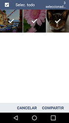 Transferir fotos vía Bluetooth - LG K4 - Passo 8