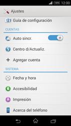 Actualiza el software del equipo - Sony Xperia E3 D2203 - Passo 5