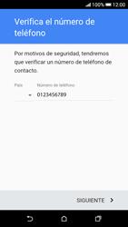 Crea una cuenta - HTC Desire 626s - Passo 6