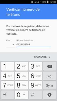 Crea una cuenta - Samsung Galaxy J7 - J700 - Passo 7