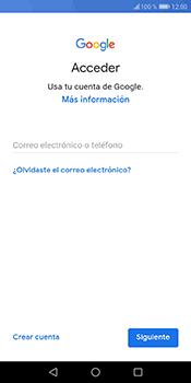 Crea una cuenta - Huawei Y6 2018 - Passo 3