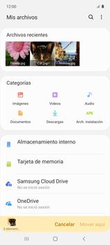 Transferir datos desde tu dispositivo a la tarjeta SD - Samsung Galaxy A51 - Passo 11