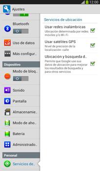Uso de la navegación GPS - Samsung Galaxy Tab 3 7.0 - Passo 19