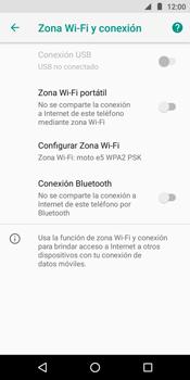 Comparte la conexión de datos con una PC - Motorola Moto E5 - Passo 6