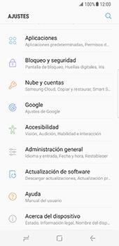 Desbloqueo del equipo por medio del patrón - Samsung Galaxy S8 - Passo 4