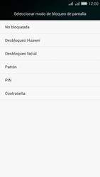 Desbloqueo del equipo por medio del patrón - Huawei G Play Mini - Passo 5