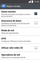 Configura el Internet - LG L40 - Passo 6