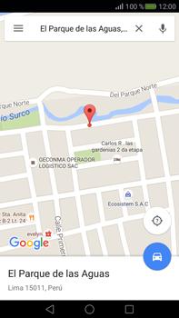 Uso de la navegación GPS - Huawei Mate S - Passo 9