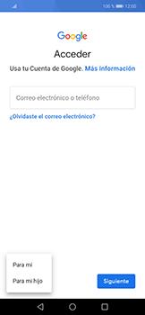 Crea una cuenta - Huawei Mate 20 Lite - Passo 4