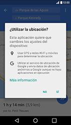 Uso de la navegación GPS - LG K10 - Passo 19