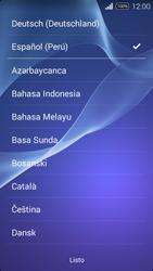 Activa el equipo - Sony Xperia E3 D2203 - Passo 3