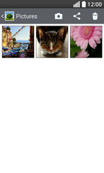 Transferir fotos vía Bluetooth - LG L70 - Passo 5