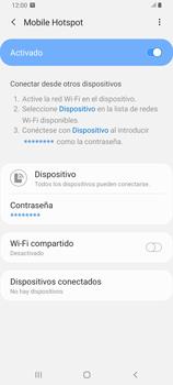 Configura el hotspot móvil - Samsung Galaxy A80 - Passo 13