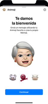 Enviar Animoji - Apple iPhone 11 - Passo 10