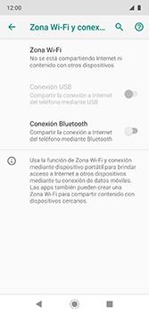 Configura el hotspot móvil - Motorola Moto G7 Plus - Passo 6