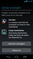 Crea una cuenta - Motorola RAZR D3 XT919 - Passo 15