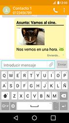 Envía fotos, videos y audio por mensaje de texto - LG K4 - Passo 20