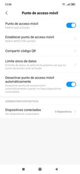 Configura el hotspot móvil - Xiaomi Redmi Note 7 - Passo 8