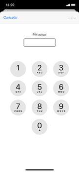 Cómo cambiar el código PIN de la SIM - Apple iPhone XS - Passo 5