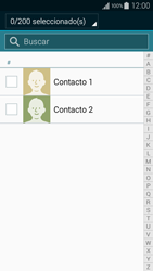 ¿Tu equipo puede copiar contactos a la SIM card? - Samsung Galaxy A3 - A300M - Passo 9