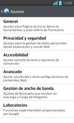 Configura el Internet - LG Optimus L 7 II - Passo 22