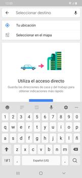 Uso de la navegación GPS - Samsung Galaxy A50 - Passo 13