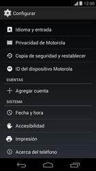 Actualiza el software del equipo - Motorola Moto G - Passo 5