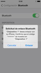 Conecta con otro dispositivo Bluetooth - Apple iPhone 5c - Passo 6