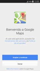 Uso de la navegación GPS - Samsung Galaxy A5 - A500M - Passo 4