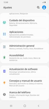 Limpieza de aplicación - Samsung Galaxy S20 - Passo 3