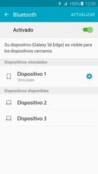 Conecta con otro dispositivo Bluetooth - Samsung Galaxy S6 Edge - G925 - Passo 8