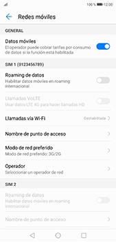 Configurar el equipo para navegar en modo de red LTE - Huawei P20 Pro - Passo 4