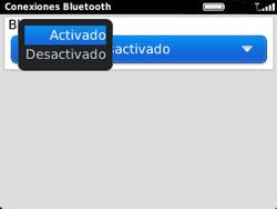 Conecta con otro dispositivo Bluetooth - BlackBerry Curve 9320 - Passo 7
