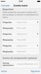 Crea una cuenta - Apple iPhone 5s - Passo 12
