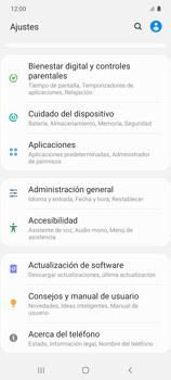Restaura la configuración de fábrica - Samsung Galaxy S10 Lite - Passo 4