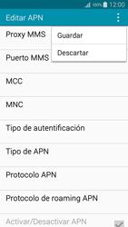 Configura el Internet - Samsung Galaxy A3 - A300M - Passo 15